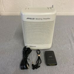 Apollo Pa-5400 Portable Pa System 25 Watt With Cassette Record/play Wireless
