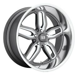 Cpp Us Mags U129 C-ten Wheels 20x10 Fits Chevy Impala Chevelle Ss