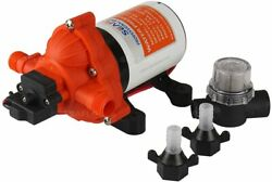 Seaflo 33-series Industrial Water Pressure Pump W/power Plug For Wall Outlet