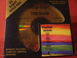 Dcc Gzs-1061 The Band Stage Fright 24 Kt Gold Compact Disc/factory Sealed