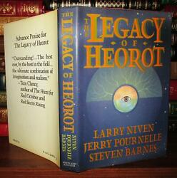 Niven Larry And Jerry Pournelle And Steven Barnes The Legacy Of Heorot 1st Edition