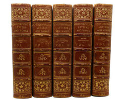 Lord Mahon The Letters Of Philip Dormer Stanhope Earl Of Chesterfield Vols. I-v