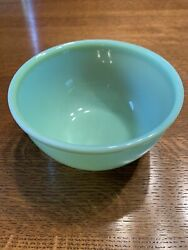 Jadite Fire King Oven Ware Beaded Rim Bowl 6 Inches
