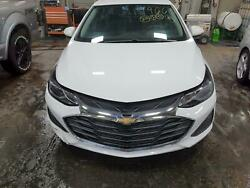 2019 Cruze Front End Assy W/led Daytime Running Lamps Opt T3s W/o Rs
