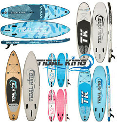 Tidal King Isup Inflatable Stand Up Paddle Board Gopro Sup With Top Accessories