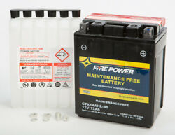 Ctx14ahl-bs Kawasaki Vn750-a Vulcan And03986-and03906 Factory Activated Sealed Battery