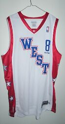 Kobe Bryant Authentic Jersey Los Angeles Lakers Nba All Star Game 48 Xl Reebok