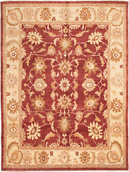 Vintage Hand-knotted Carpet 9'8 X 12'10 Traditional Oriental Wool Area Rug