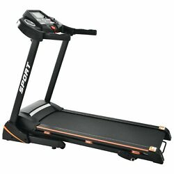 Folding Electric Treadmill With Motorised Lcd Running Jogging Fitness Machine Us