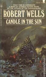 Candle In The Sun Acceptable S2016 Robert Wells 1971 Science Fiction