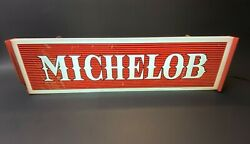 Vintage 1968 Anheiser Busch Michelob 360-111-68 Lighted Advertising Beer Sign
