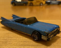 Vintage Hot Wheels 1998 First Edition 63 T-bird Convertible Ford Rare Gold Wheel