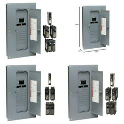 100 Amp 20 Space 40 Circuit Indoor Main Breaker Plug On Neutral Load Center