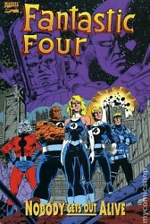 Fantastic Four Nobody Gets Out Alive Tpb 1-1st Nm 1994 Stock Image