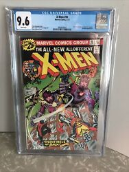 X-men 1976 98 Jack Kirby And Stan Lee Cameo Sentinels Cgc 9.6 White Pages