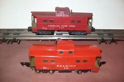 Hte Amer. Flyer 904 American Flyer Caboose / 630 Reading Caboose