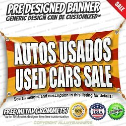 Autos Usados Used Cars Sale Advertising Vinyl Banner Sign No Cheap Flag
