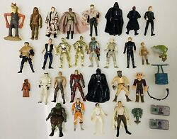 1970andrsquos-1990andrsquos Vintage Kenner Star Wars Action Figure Lot