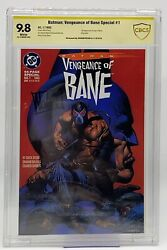 Batman Vengeance Of Bane Special 1 First Appearance Cbcs 9.8