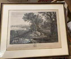 John Boydell March 25, 1775 Engraving Africa From The Houghton Gallery