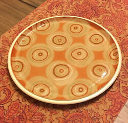 """Large Denby Made In England Fire Chili Chilli Serving Plate Platter 13 1/4"""""""
