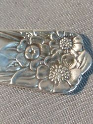 2 Wm Rogers And Son Is April Silver Plated Baby Spoon Matching Vintage