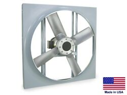 Panel Axial Exhaust Fan - Direct Drive - 24 - 115/230v - 1 Hp - 7410 Cfm