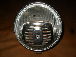 Vintage Cev 04601 Headlight With Built In Headlight - Moped, Scooter, Minibike