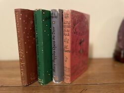 Mary Poppins Set P L Travers True First Editions 4 Books