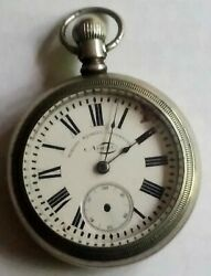 Robert Koskell Liverpool Windup Open Face Pocket Watch .21543 - For Parts Only
