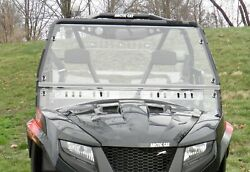 2015+ Arctic Cat Prowler Scratch Resistant Mr10 Lexan Windshield With Dual Vents
