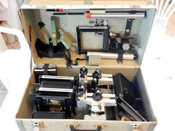 Sinar P 4x5 + Case + Accessories -viewer Extensions Bellows F Standard Chassis