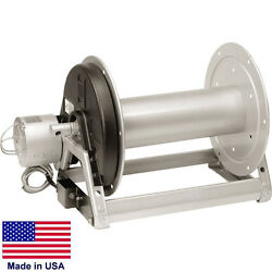 Pressure Washer And Sprayer Electric Hose Reel - 12v 400 Ft 3/8 / 300 Ft 1/2 Id