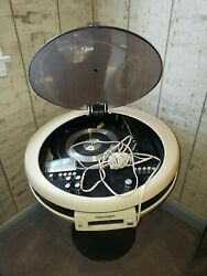 Weltron Space Age 2005 Stereo 3 Function 8 Track Phonograph And Radio All Working
