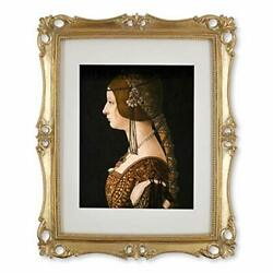Picture Frame Antique Frame Vintage Photo Frames 8x10 With Mat In 11x14 Gold