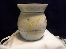 Scentsy Wax Warmer Nursery Rhyme Hey Diddle Diddle Cow Jumped Over Moon Euc Nice