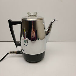 Vintage Ge General Electric Automatic Percolator 36p12 Coffee Pot Maker