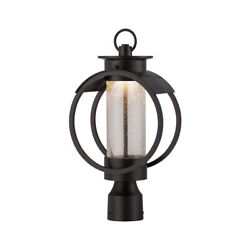 Designers Fountain Led32826-bnb Arbor Post Light Or Accessories Burnished Bronze