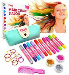 25-piece Girl's Hair Chalk Color Set - Gifts For Teenage Girls, Preteen, Salon