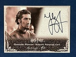 Artbox Harry Potter And The Goblet Of Fire Auto Card - Tolga Safer Karkaroff's Aid