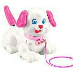 Fisher-price Lil Little Snoopy Pink Toys R Us Exclusive Pull Along Puppy 2007