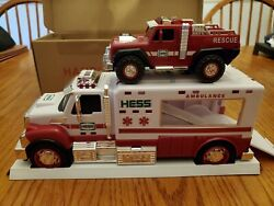 2020 Hess Ambulance And Rescue Toy Truck Nib, Out Of Print