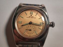 Vintage Rolex Geneva Oyster Perpetual Movement Menand039s Case Dial Hands Runs