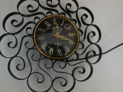 Vintage General Electric Telechron Wall Clock 2h60