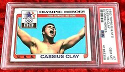 1983 Topps Mandmand039s Gold Olympic Heroes Muhammad Ali Cassius Clay 7 Psa 10