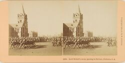 South Africa Pretoria Army Of Lord Robert Guerre Military Stereo Albumin