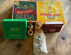 Board And Card Games Exploding Kittens Witand039s End Smart Ass Bottle Top