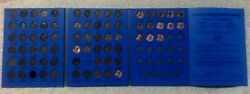Complete Lincoln Wheat Penny Cent Collection Whitman Album 1941 - 1969 P D S Set