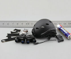 M024 Minitimes 16 Scale Soldier Swat Helmet+four Eyes Night Vision Device Model