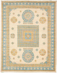 Hand-knotted Carpet 9'2 X 11'10 Traditional Vintage Wool Rug